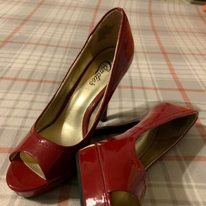 Candie's Red Dress Shoes